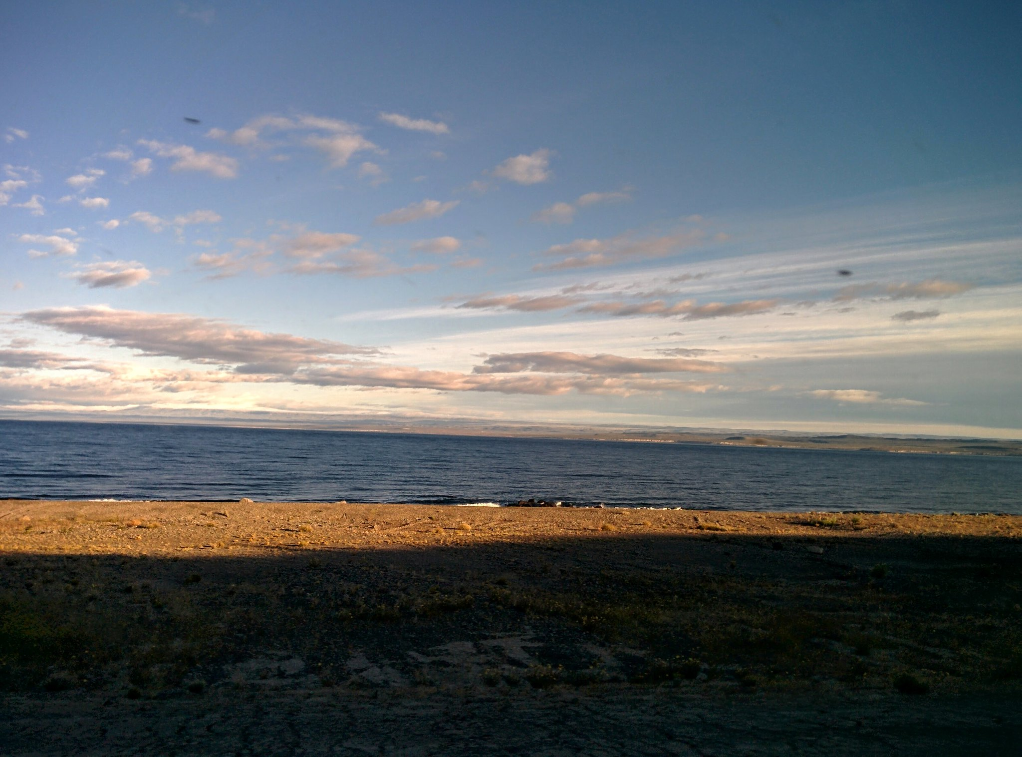 Lago General Carrera at dawn