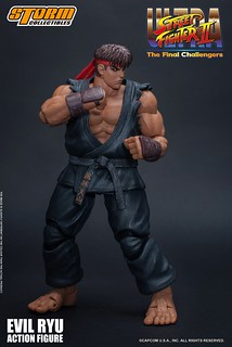 Ultra Street Fighter II: The Final Challengers Evil Ryu 1/12 Scale Figure by Storm Collectibles