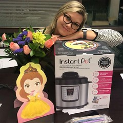 Before Miranda began her birthday weekend, the team at AGI Atlanta surprised her with great gifts! Happy birthday Miranda!