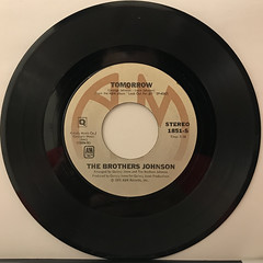 THE BROTHERS JOHNSON:GET THE FUNK OUT MA FACE(RECORD SIDE-B)
