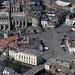 Aerial of Boston in Lincolnshire
