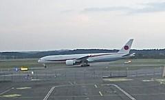 JASDF Japan Air Self Defence Force Boeing 777-300ER N509BJ test flight