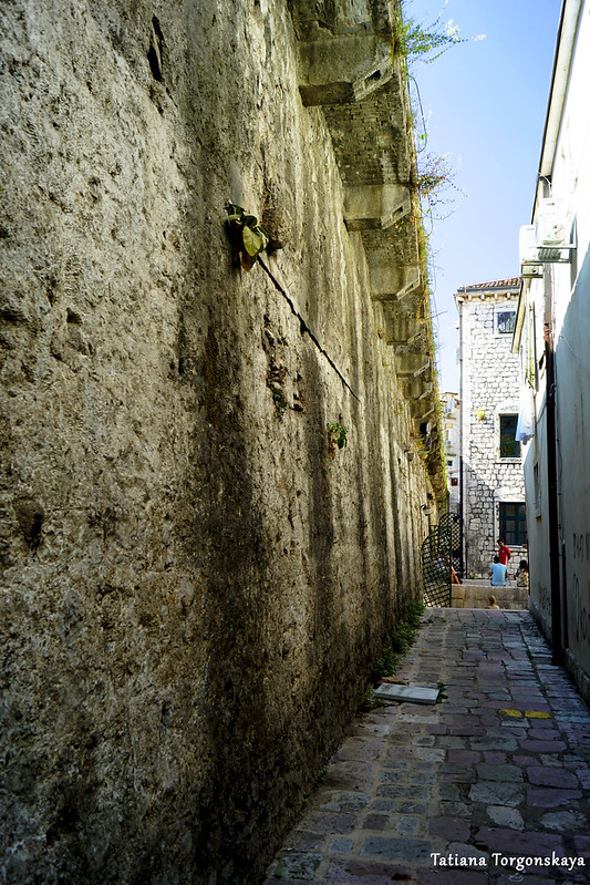 Стена возле ворот Культурного центра