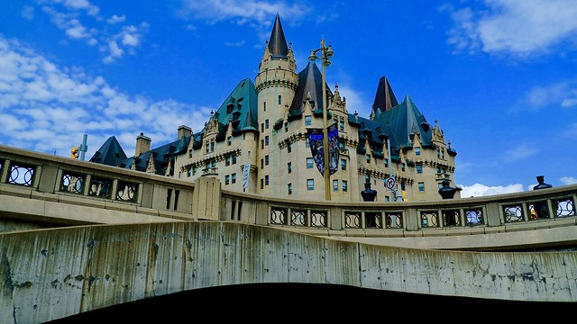 The view from below - Chateau Laurier, Ottawa [Explored - 8/8/18]