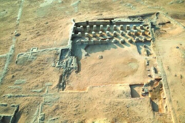 3110 A 1400 Years Old Masjid discovered in Al-Kharj Saudi Arabia