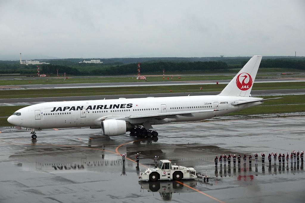 Japan Airlines   Boeing B777-200   JA8978   CTS/RJCC   2018.8.14