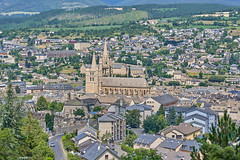 Views of Mende from the Croix de Saint Privat - Photo of Mende