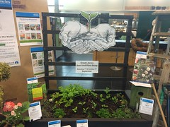 The Great Library Seed and Plant Swap display, South Library
