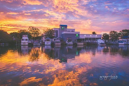 Sunset. Photographer Gregory Bozik