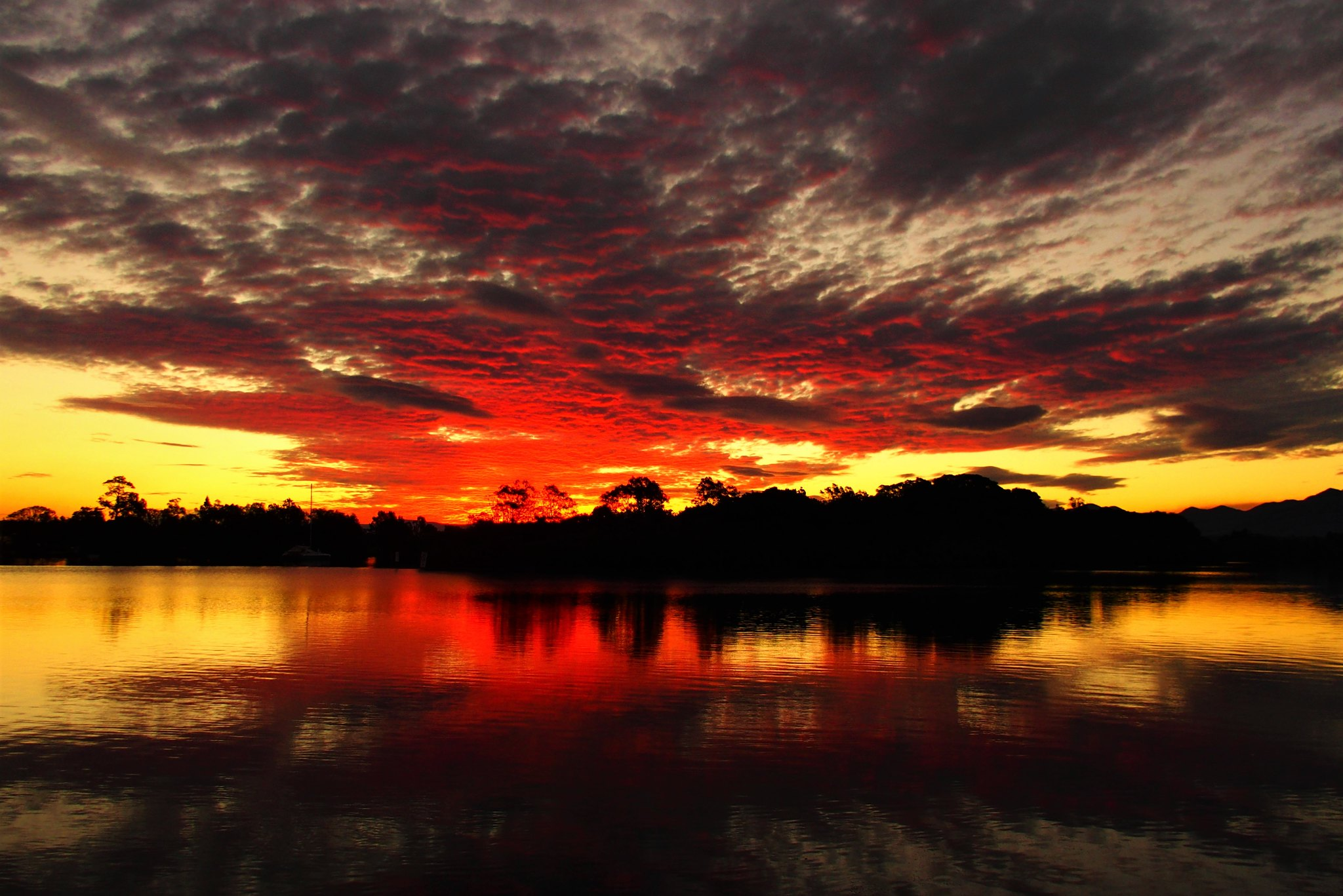 Bellinger River Sunset, Mylestom, New South Wales, Australia