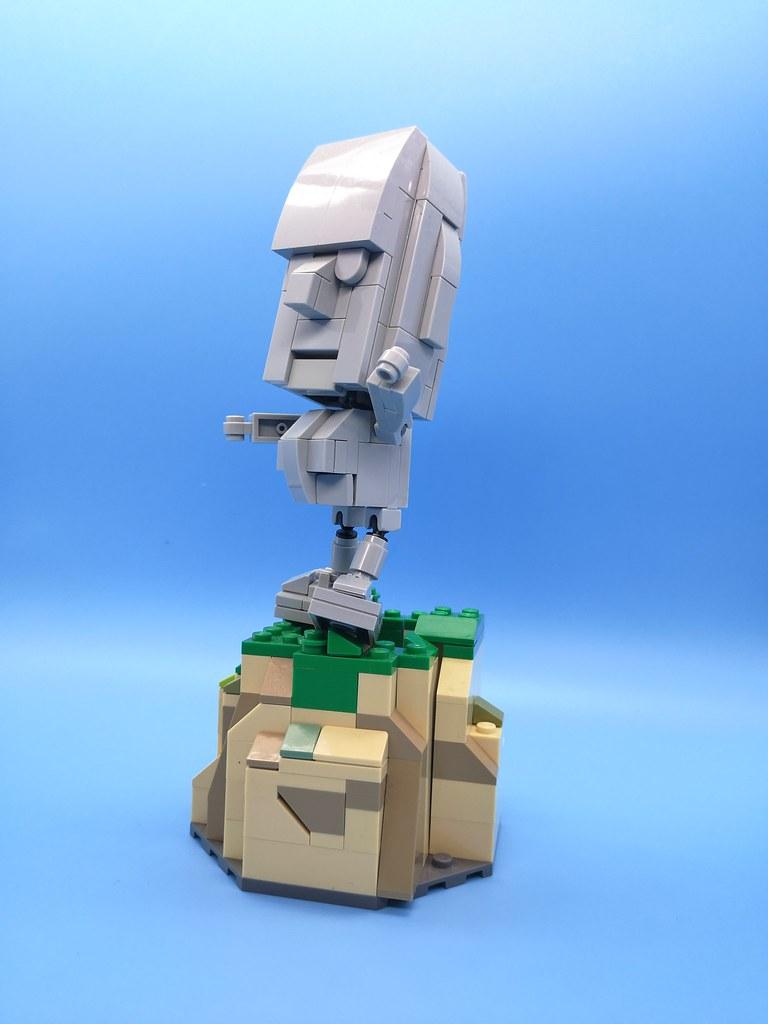 摩艾石像 (Moai)   #lego #moc # #statue