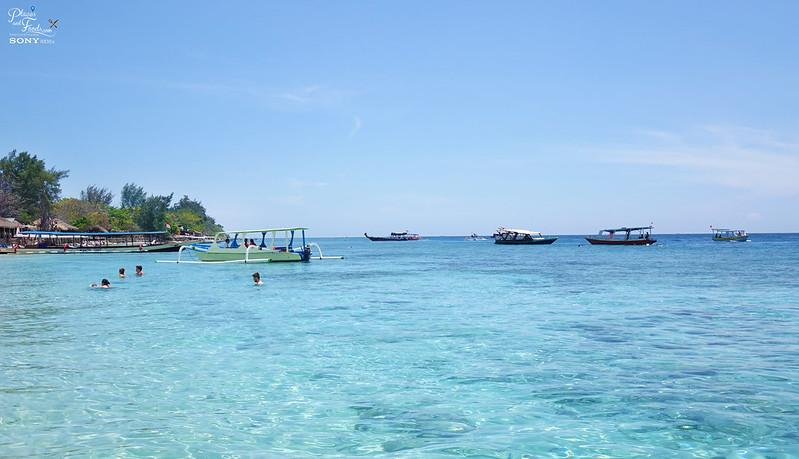 lombok gili sea