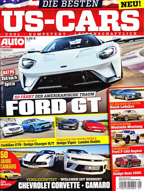 Auto Zeitung - US-Cars 1/2017