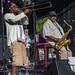 Dennis Rollins MBE (trombone) and Pee Wee Ellis