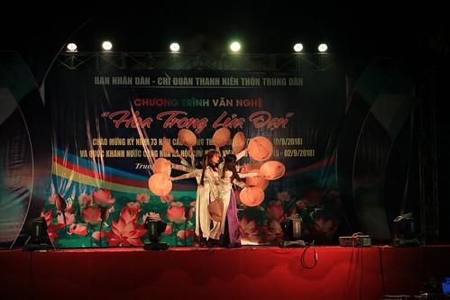 Văn nghệ thôn Trung Đàn xã Tam Đại