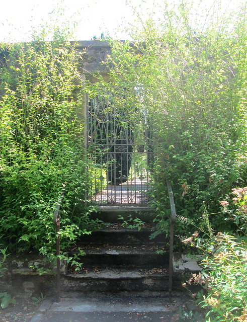 gate to walled garden