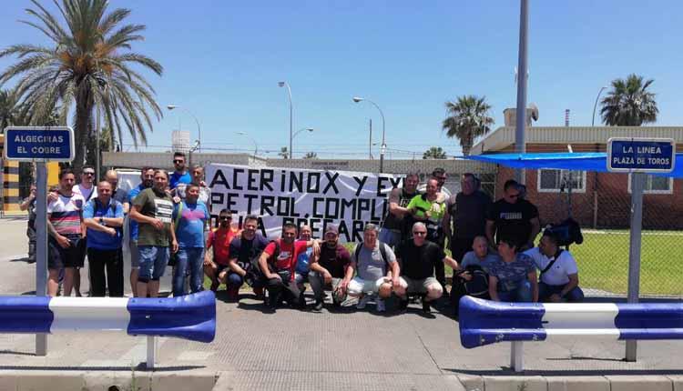 protesta trabajadores empresas auxiliares Acerinox_  (1)4