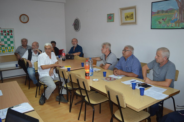 Sastanak kapitena 1.lige ŠSPO