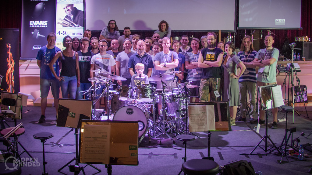 Open-Minded Drum Camp 2018