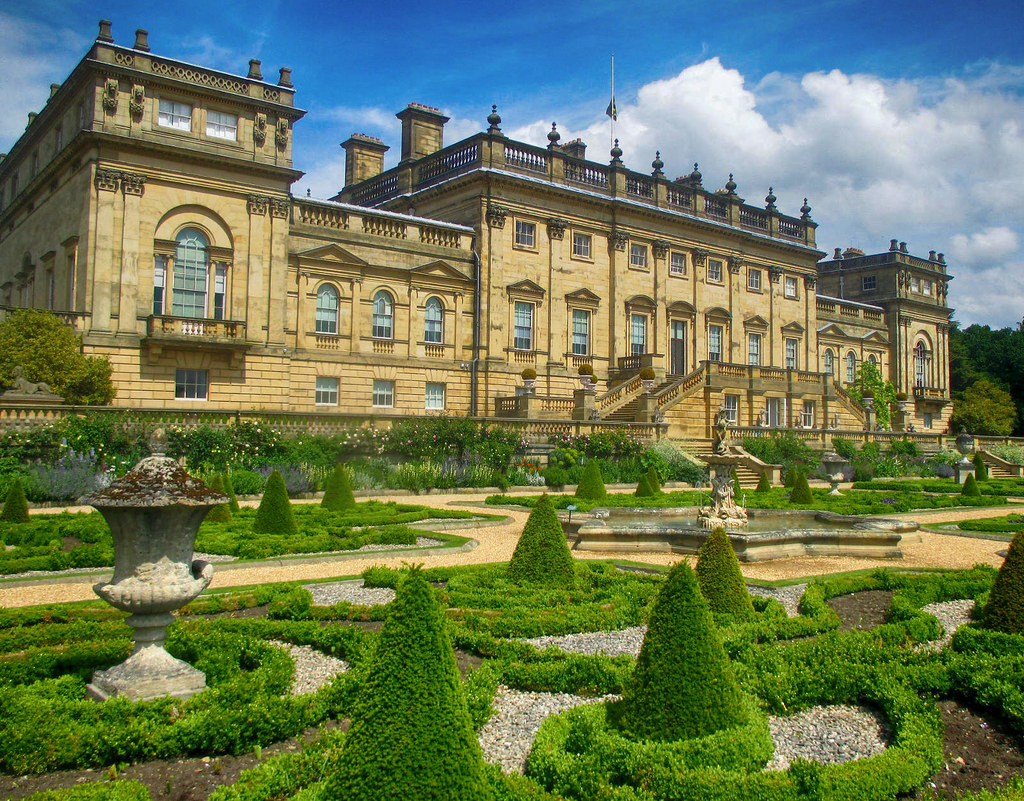 Harewood House, West Yorkshire. Credit Diego Sideburns, flickr