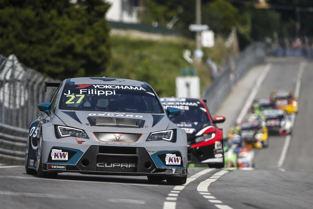 27 FILIPPI John, (fra), Seat Cupra TCR team Oscaro by Campos Racing, action during the 2018 FIA WTCR World Touring Car cup of Portugal, Vila Real from june 22 to 24 - Photo Francois Flamand / DPPI