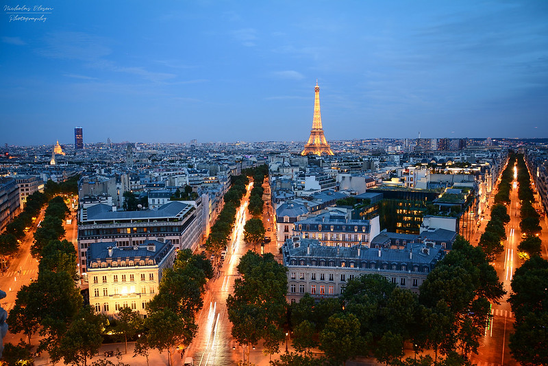 Paris | Arc de Triomphe View
