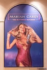 Mariah Carey poster, Caesars Palace, Las Vegas Strip