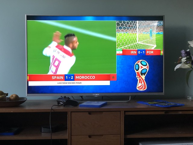 Iran 1 - 1 Portugal / Spain 2 - 2 Morocco