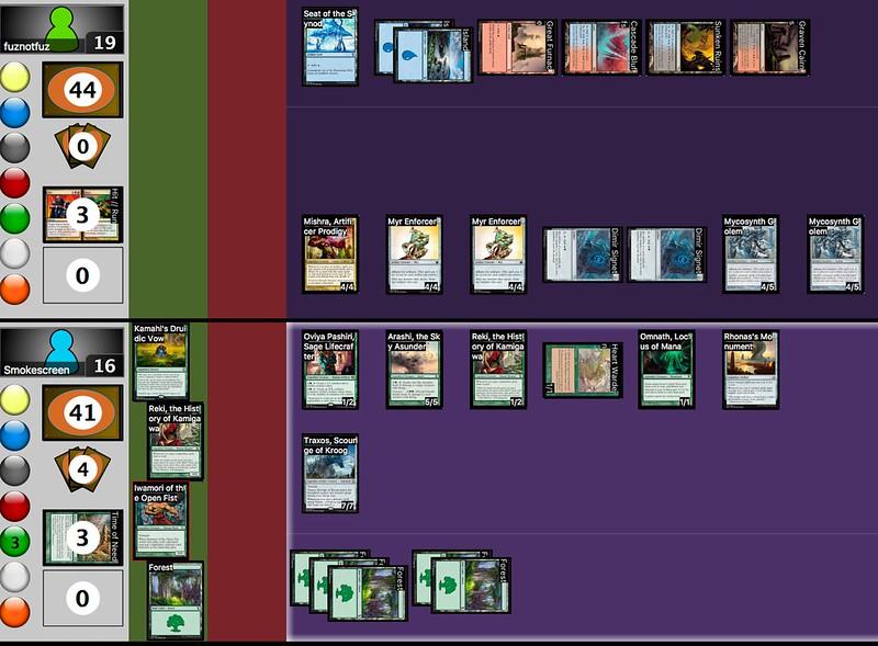 Monster In Your Parasol vs Mishra deck