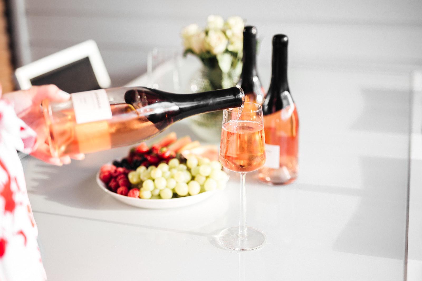 rosee viini