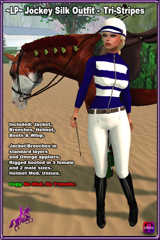 FREE *Elite Equestrian* Group Gift – Jockey Silk Outfit –