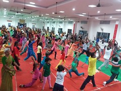 International Yoga Day at Rameswaram