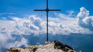 Gipfelkreuz Vermoispitze, 2.929 m