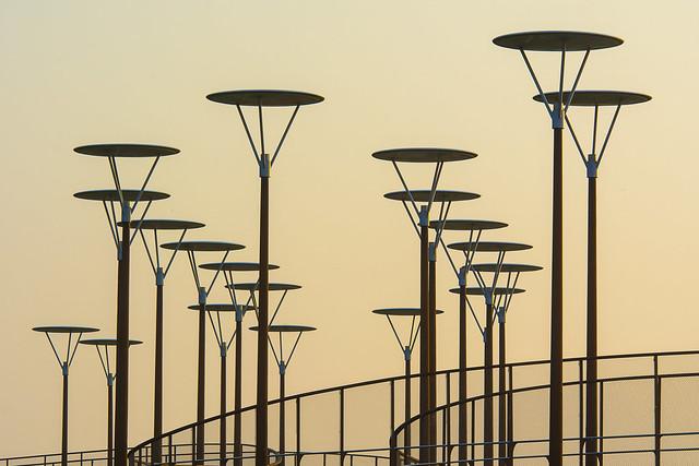 Nineteen lamps