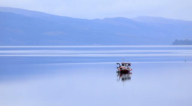 Isolation, Loch Long, Scotland