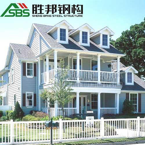 SBS steel structure villa