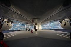 The Spirit of Delta Boeing 767 at the Delta Flight Museum Atlanta Geor