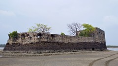 104517: Kelwe-Pankot Fort (Low-tide)