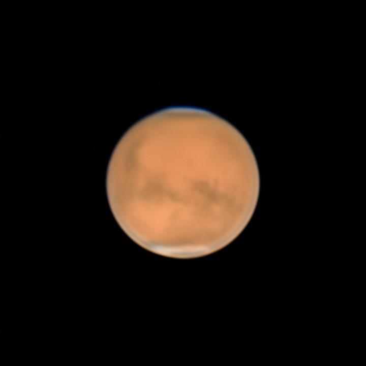 火星 (2018/7/31 23:30-23:43) (2000/5000 x 4 de-rotation)