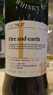 SMWS 70.27 - Fire and earth