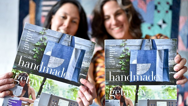 Handmade Getaway, a book by Karyn Valina and Jacqueline Sava - special first edition is coming soon!