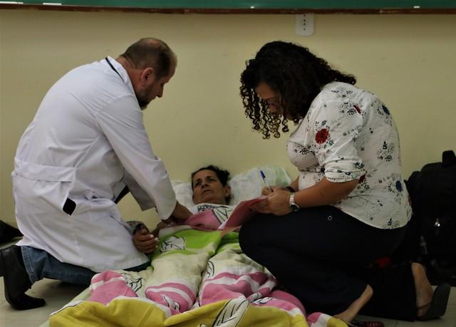 Médico divulga segundo boletim médico da greve de fome em Brasília