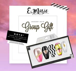 e.marie // Group Gift August