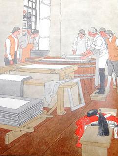 Crane paper makers