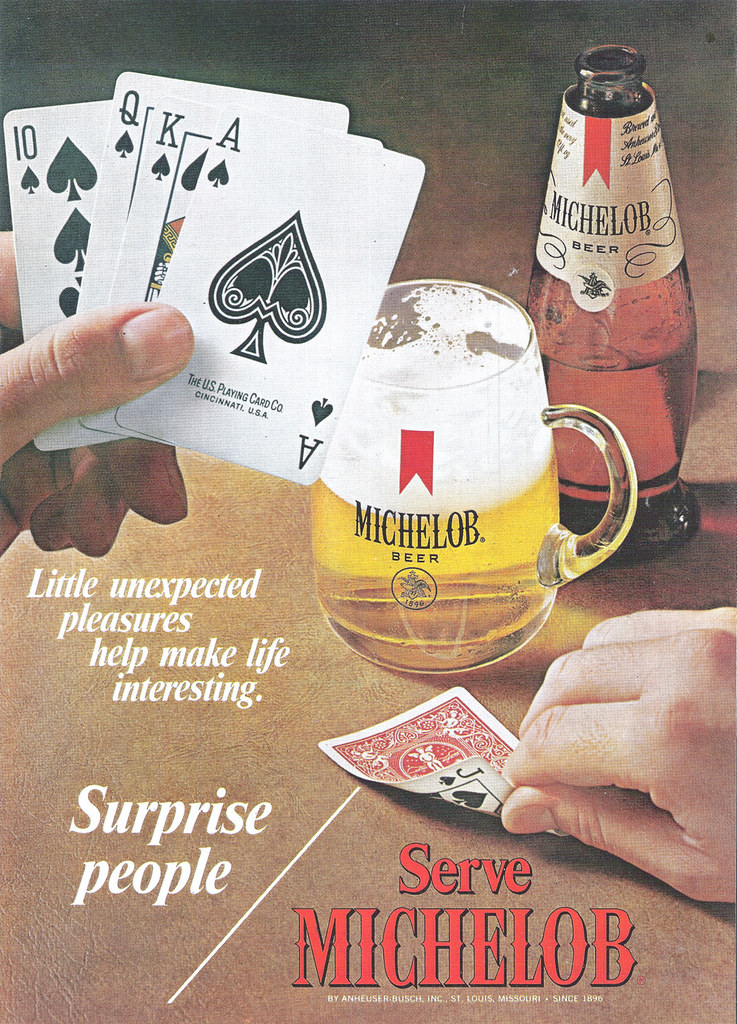 Michelob-1971-poker