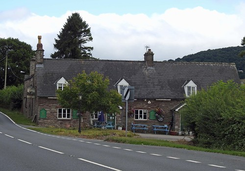 The Old Ford Inn, A40, Llanhamlach, Brecon 2 August 2018