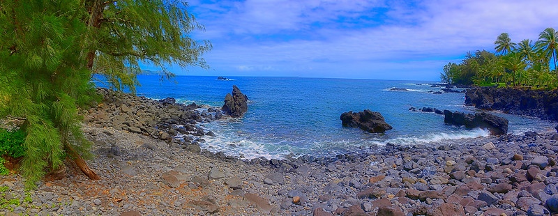 Waialohe Point Panorama