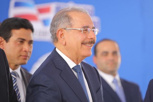 """Presidente Danilo Medina: """"Estamos dignificando la vida de la gente. Eso es lo que constituye esta nueva línea del Metro de Santo Domingo"""""""