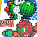 Pixel Art Nintendo Characters made of M&Ms