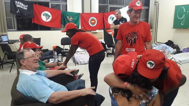 Representantes de Marcha visitam integrantes da Greve de Fome